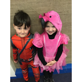 Dressing up on World Book Day
