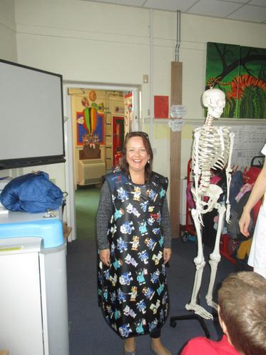 Mrs Hammond said it was quite a heavy apron