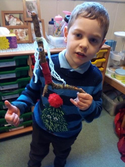 """""""This is my Stick man"""""""