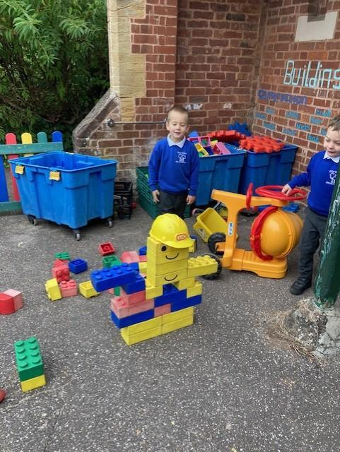 Welcome our new pupil, builder Bob!