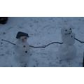 Rowan made snowmen