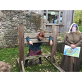 Oh no! Mrs Lingard was put in the stocks for 3 days, for cheating her customers!