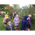 Children capture images of Autumn on our iPads