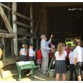 We visited the Threshing Barn