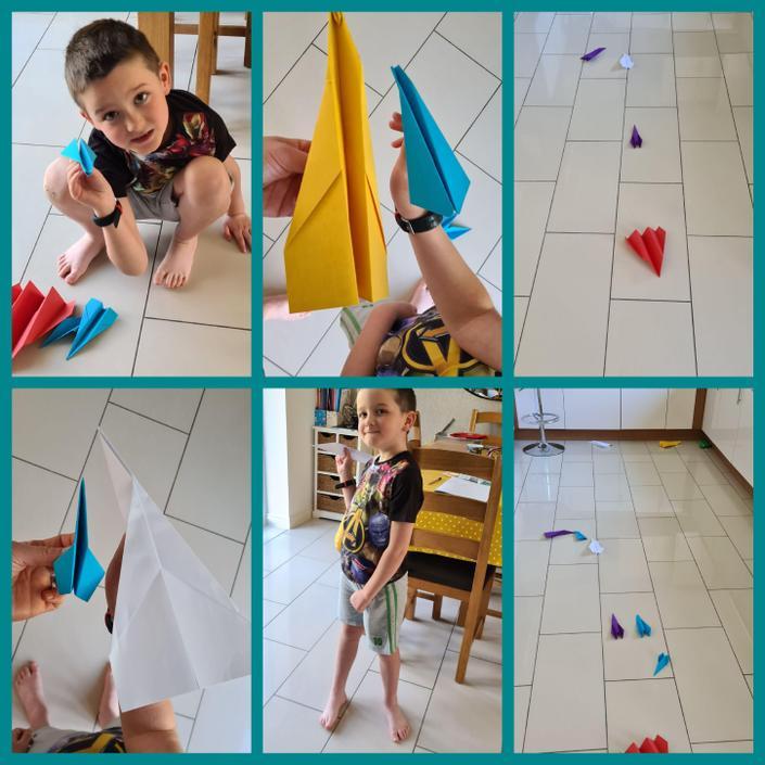 Paper plane races