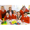 Andy Cope, Author, working with our happy pupils