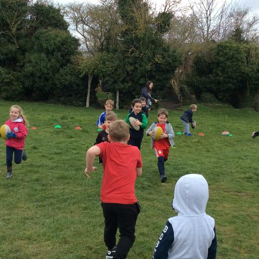 Sports Relief with RugbyTots