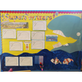 Super writers all about being eaten by a whale!