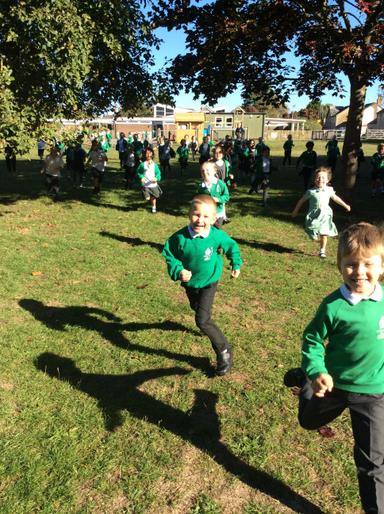 National Fitness Day - Whole School Run