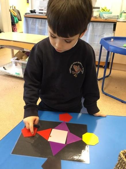 Firework picture using shapes