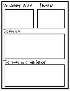 Create a vocabulary journal to learn and understand new words