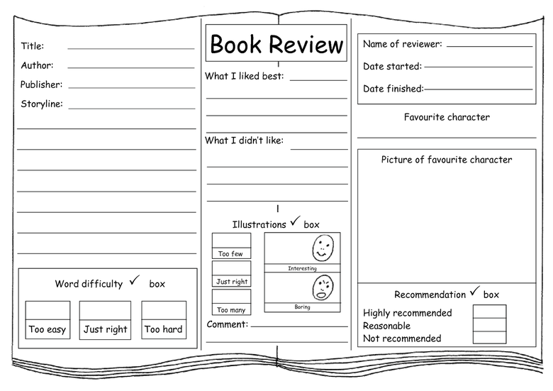 Write a book review about your favourite book. Why do you love it so much?