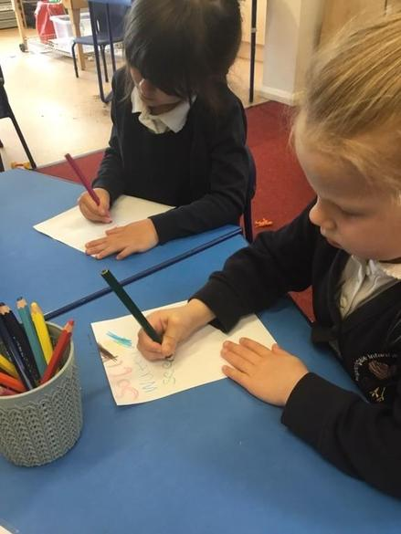 Writing instructions for planting seeds