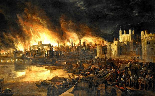 Make models of things to do with the Great Fire of London.