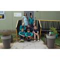 Year 6 gardening club.JPG