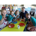 Tasting at the cookery club