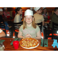 Frankie and Benny's support Year 6 pizza making