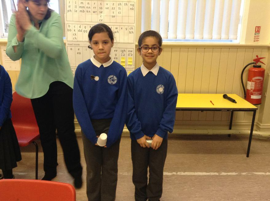 Year 5 and the cup song 2nd place