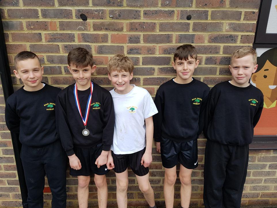 Yr 6 Boys Race