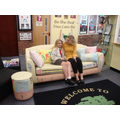 Gracee won the national sofa design competition