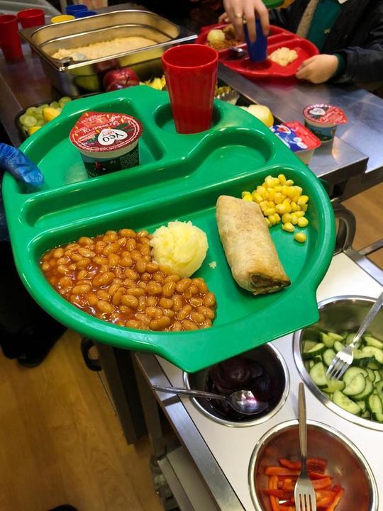 KS1 Vegetarian sausage roll