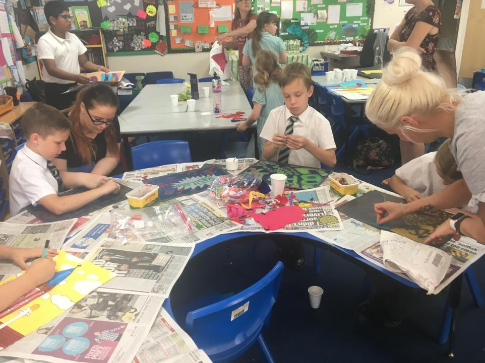 Art Workshops at Rydene Primary School