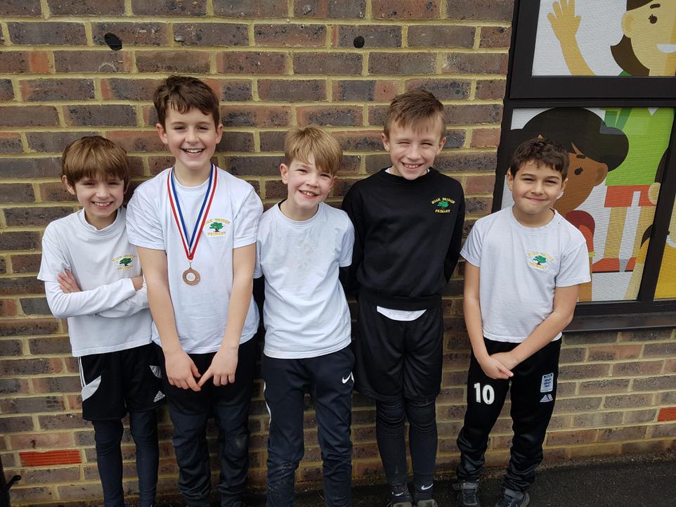 Year 5 Boys Race
