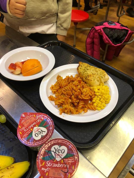 Upper KS2 tomato pasta