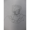 Can you guess whos portrait we have drawn?