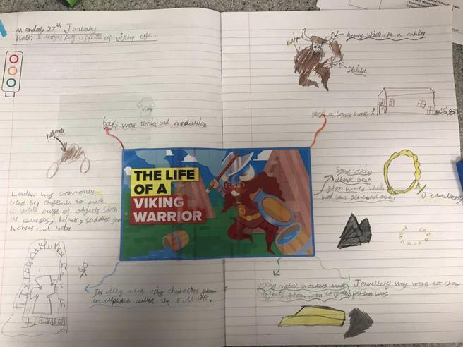 Life of a Viking Warrior Poster