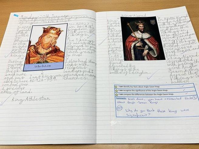 Comparing Anglo-Saxon Kings