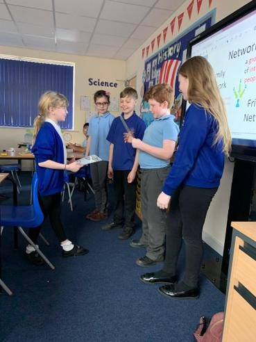 Computing - Acting out a Network