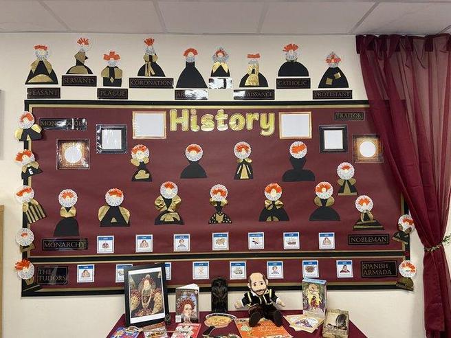 Queen Elizabeth I Display