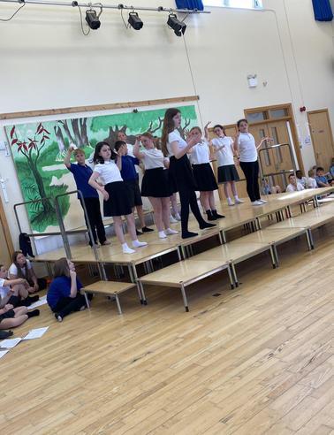 Jungle Book Rehearsals