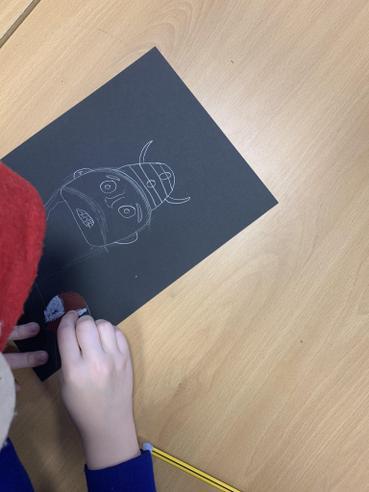 Sketching Viking Warriors