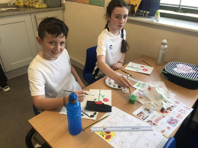 Creating Poppies