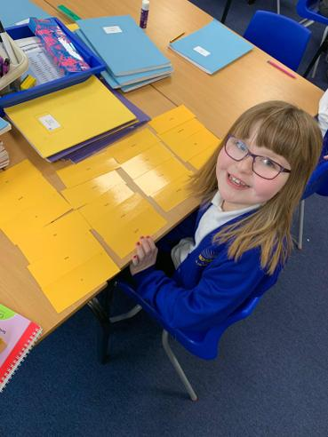 This Super Star flying through her Phonics word