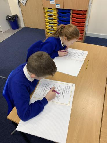 Peer Assessing our Writing