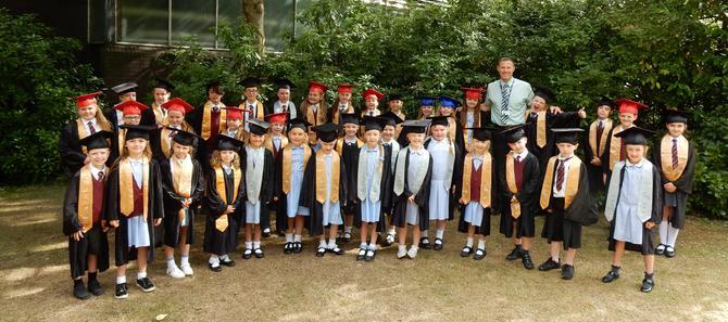 Children's University Graduation 2018