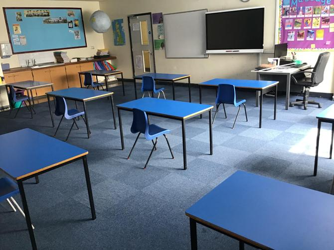 Y6 classroom