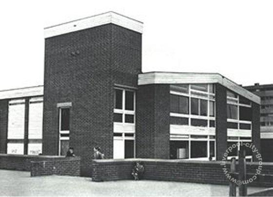 2-storey junior end from the top yard - 1982