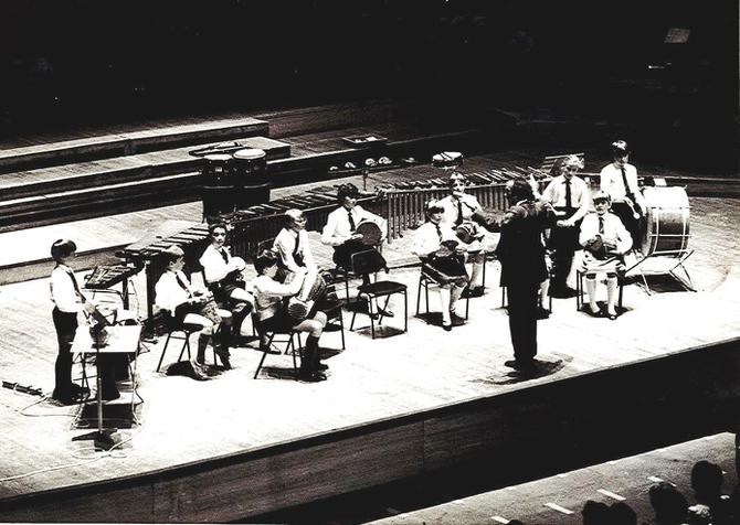 NP Orchestra performing in London 11th July 1984