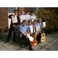 2014's guitar exam success