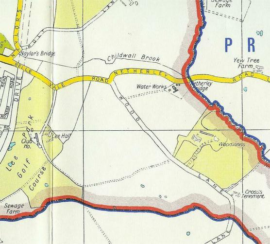 Netherley 1959 map