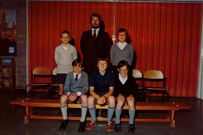 NP Quiz Team with Mr. Jones ~1979/80