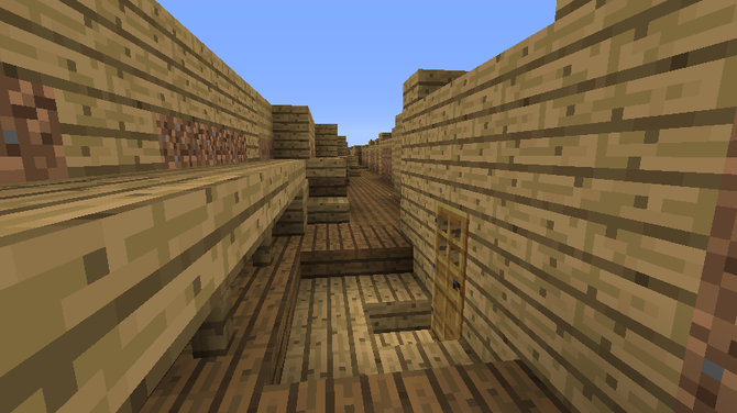 Minecraft WW1 Trenches aid learning in History