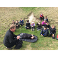 We experienced a Bronze Age burial.