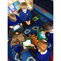 Lots of different subjects are explored on iPads