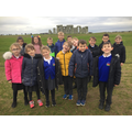 We took a tour around the stones.
