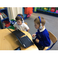 Phonics games on the notebooks help us to learn